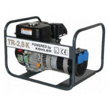 Tresz TR-2,8 K egyfázisú áramfejlesztő KOHLER SH265 motorral
